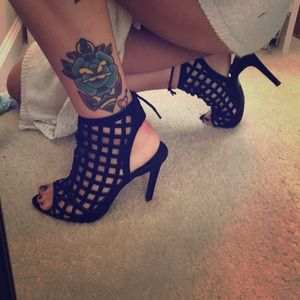 Shoes - Black high heels